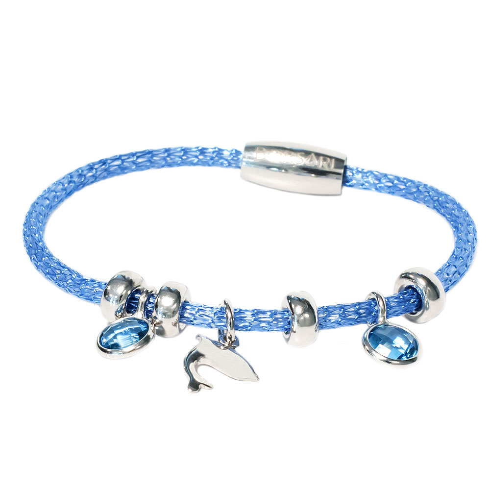Blauwgouden armband