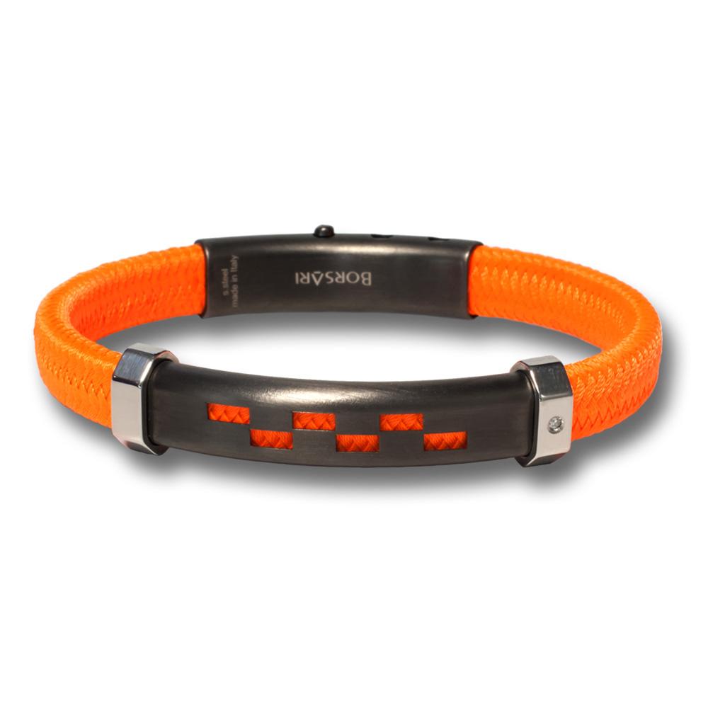 Fluorescerend oranje armband